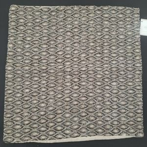 Pottery Barn Cover Sequin Embroidered Linen Blend